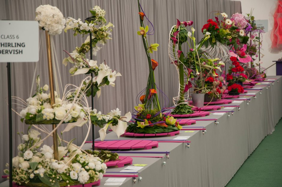 NAFAS displays at the Wisley Flower Show